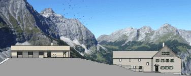 Umbau Falkenhütte